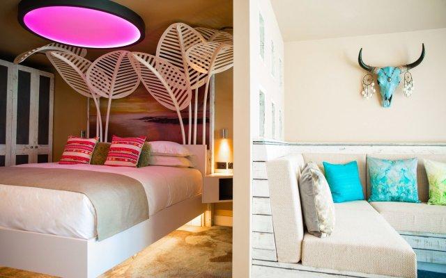 Отель Malmaison Brighton Брайтон комната для гостей