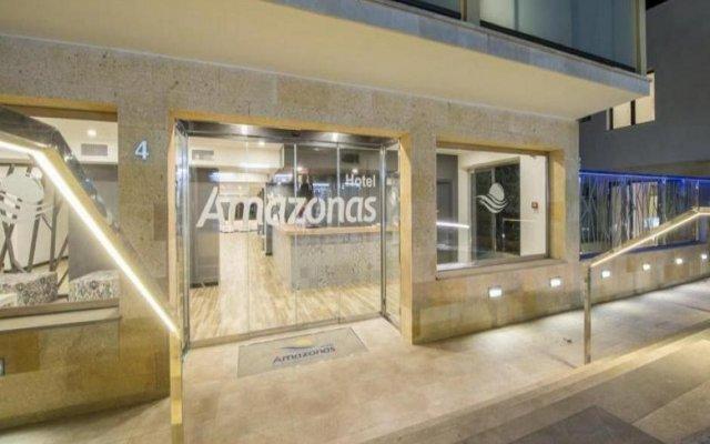 Hotel Amazonas вид на фасад