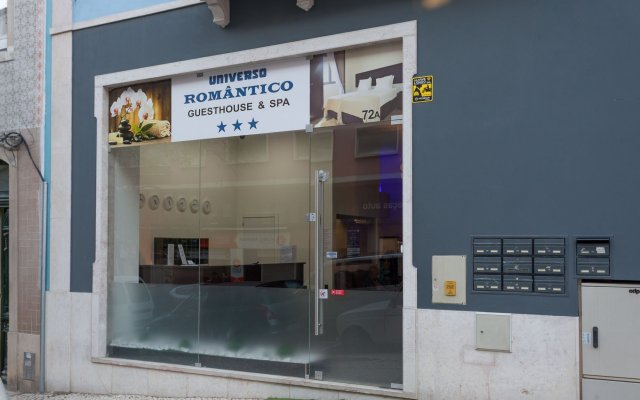 Отель Universo Romântico Guesthouse & Spa вид на фасад