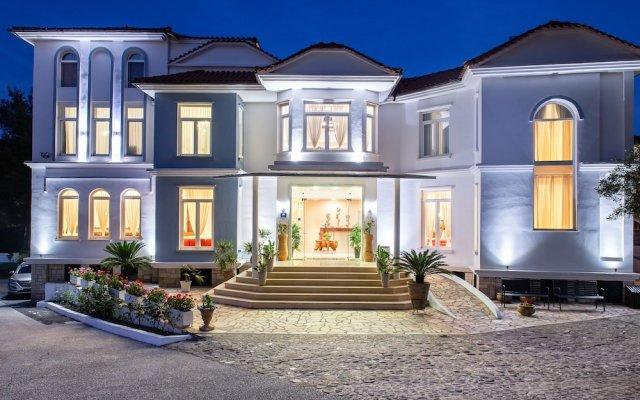 Отель Porfi Beach Hotel Греция, Ситония - 1 отзыв об отеле, цены и фото номеров - забронировать отель Porfi Beach Hotel онлайн вид на фасад