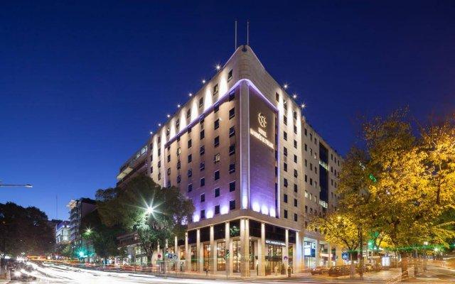 Отель Marquês de Pombal Португалия, Лиссабон - 5 отзывов об отеле, цены и фото номеров - забронировать отель Marquês de Pombal онлайн вид на фасад