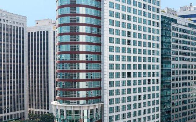 Отель Fraser Place Central Seoul вид на фасад