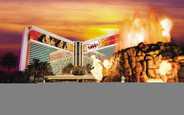 Отель The Mirage США, Лас-Вегас - 10 отзывов об отеле, цены и фото номеров - забронировать отель The Mirage онлайн вид на фасад