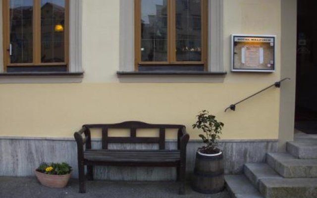 Hotel Walfisch вид на фасад