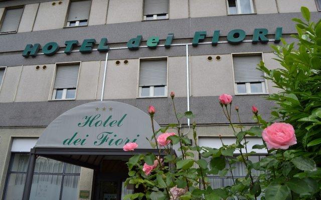Hotel Dei Fiori вид на фасад