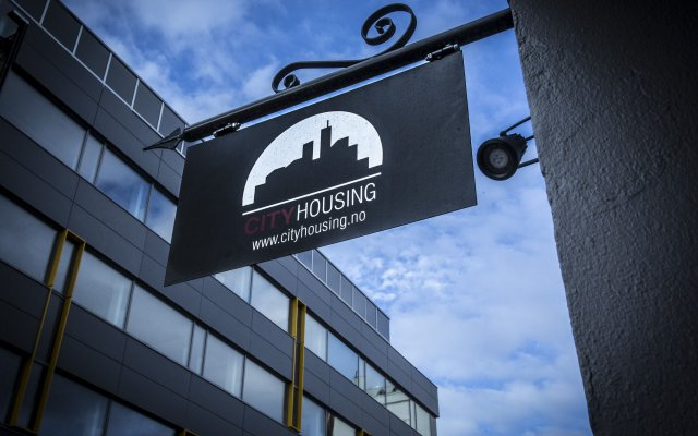 Отель City Housing - Kirkebakken 8 Ставангер вид на фасад