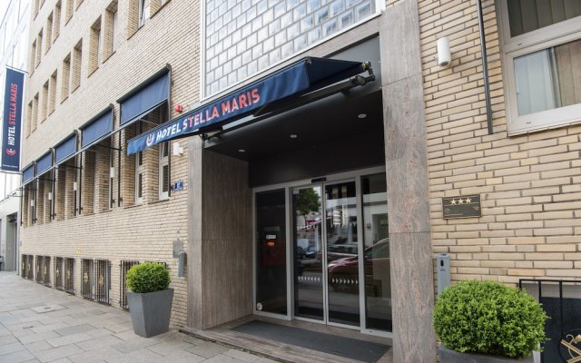 Hotel Stella Maris вид на фасад