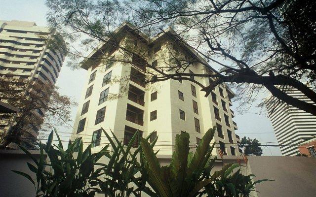 Отель Gardengrove Suites Таиланд, Бангкок - отзывы, цены и фото номеров - забронировать отель Gardengrove Suites онлайн вид на фасад
