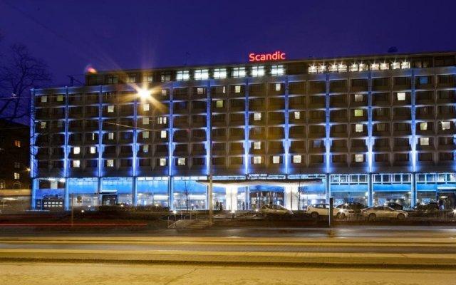 Отель Scandic Park Хельсинки вид на фасад