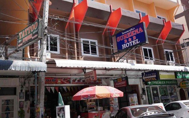 Sureena Hotel Паттайя вид на фасад