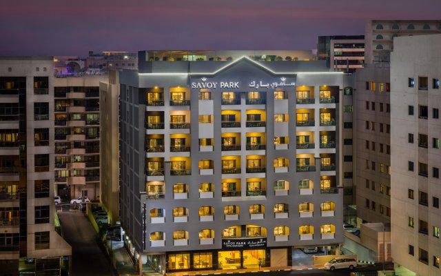Savoy Park Hotel Apartments вид на фасад