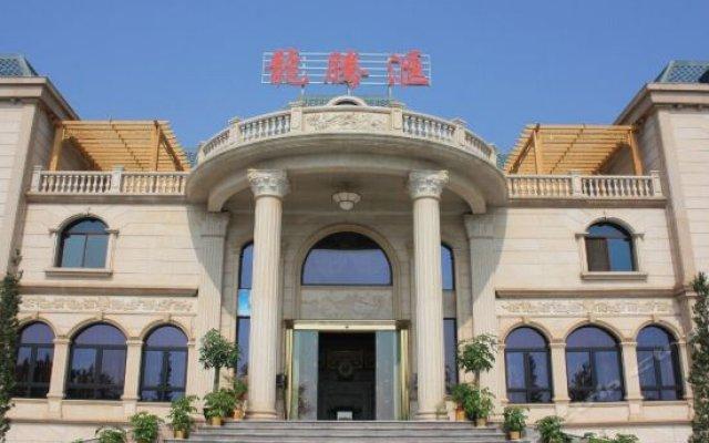 Отель Longjia Ecological Hot Spring Resort Китай, Жангжоу - отзывы, цены и фото номеров - забронировать отель Longjia Ecological Hot Spring Resort онлайн вид на фасад