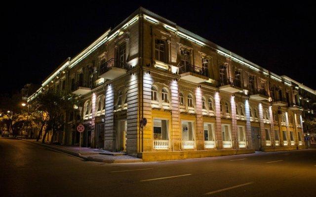 Бутик-отель Пассаж вид на фасад