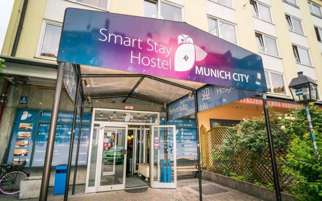 Smart Stay Hostel Munich City вид на фасад