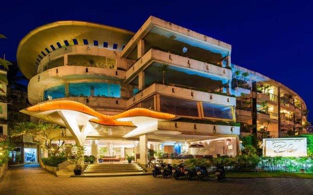 Отель The Bliss South Beach Patong вид на фасад