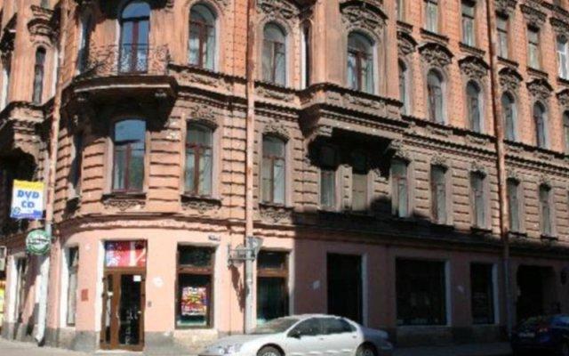 Гостиница Меблированные комнаты Europe Nouvelle вид на фасад