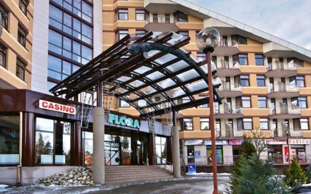 Flora hotel Боровец вид на фасад