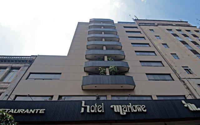 Отель Marlowe Мексика, Мехико - 1 отзыв об отеле, цены и фото номеров - забронировать отель Marlowe онлайн вид на фасад