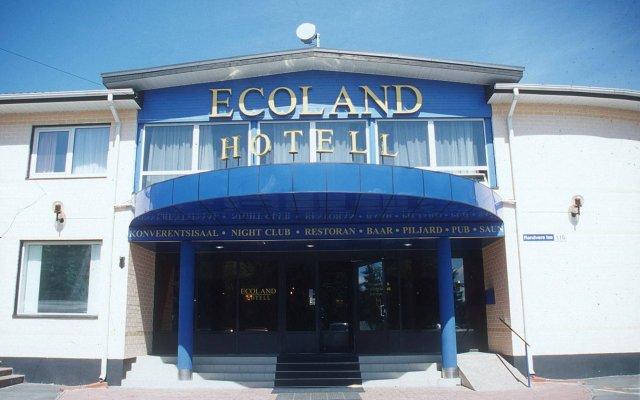 Отель Ecoland Boutique SPA вид на фасад