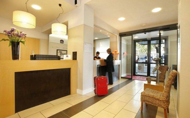 Отель Best Western Adagio Франция, Сомюр - отзывы, цены и фото номеров - забронировать отель Best Western Adagio онлайн интерьер отеля