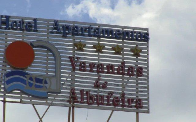 Отель Varandas de Albufeira вид на фасад