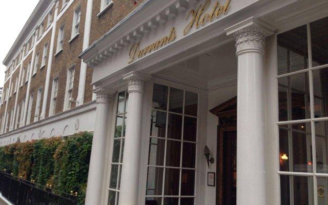 Отель DURRANTS Лондон вид на фасад