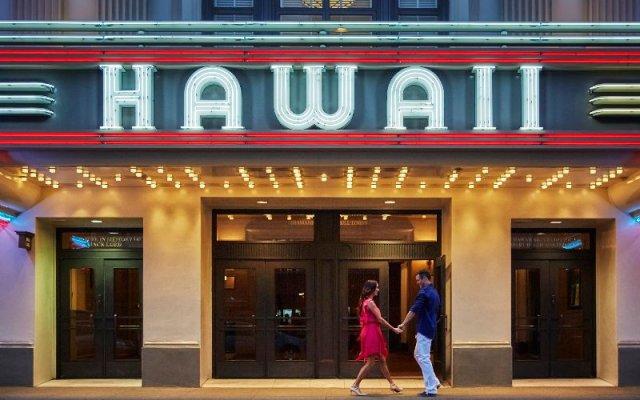 Отель Four Seasons Resort Oahu at Ko Olina вид на фасад