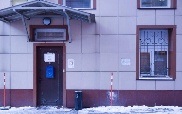Хостел Moscow Friends вид на фасад