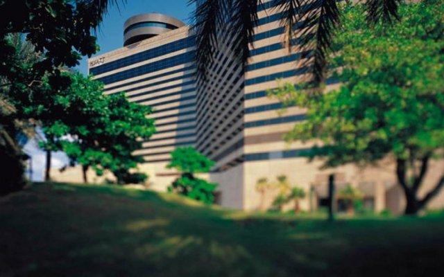 Отель Hyatt Regency Galleria Residence Dubai вид на фасад