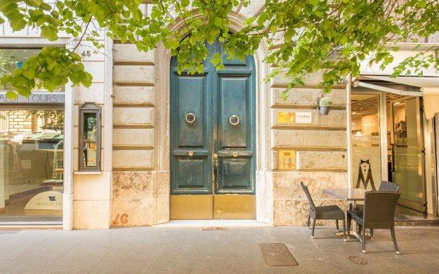 Отель Suite in Rome Veneto Италия, Рим - отзывы, цены и фото номеров - забронировать отель Suite in Rome Veneto онлайн вид на фасад