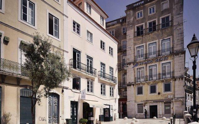 Отель Lisbon Story Guesthouse вид на фасад