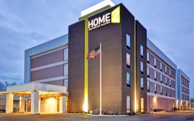 Отель Home2 Suites by Hilton Columbus Airport East Broad США, Колумбус - отзывы, цены и фото номеров - забронировать отель Home2 Suites by Hilton Columbus Airport East Broad онлайн вид на фасад