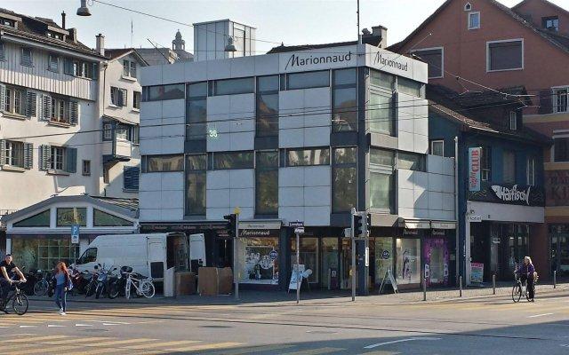 Отель DaVinci Швейцария, Цюрих - отзывы, цены и фото номеров - забронировать отель DaVinci онлайн вид на фасад