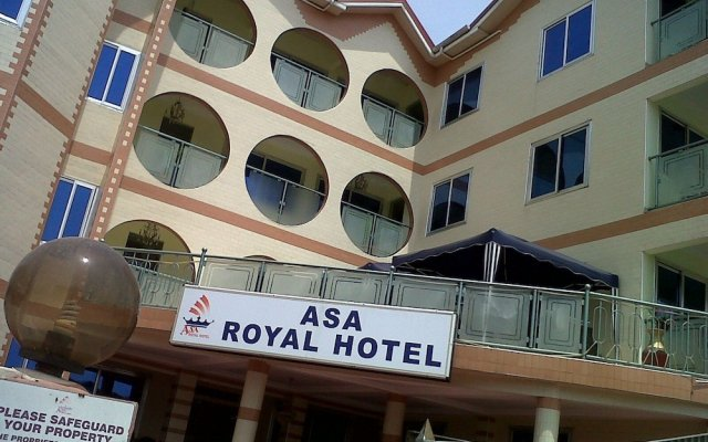 Asa Royal hotel вид на фасад
