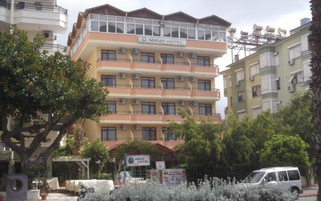 Отель Miray Аланья вид на фасад