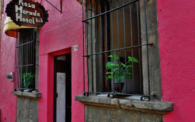 Hotel Rosa Morada Bed and Breakfast вид на фасад