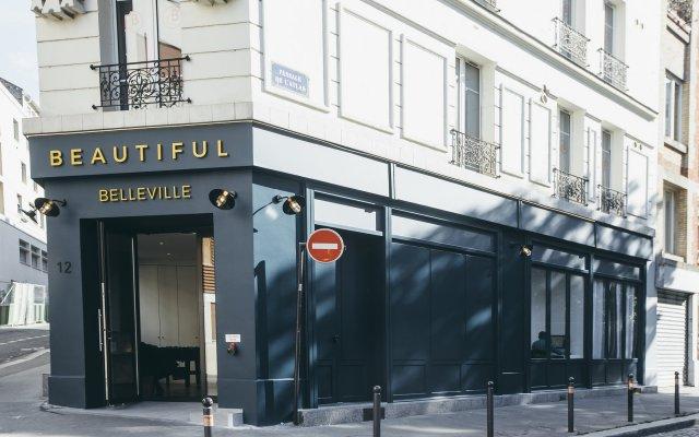 Beautiful City Hostel & Hotel Париж вид на фасад