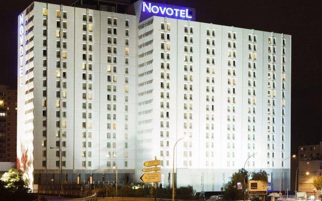 Novotel Paris Est Hotel вид на фасад