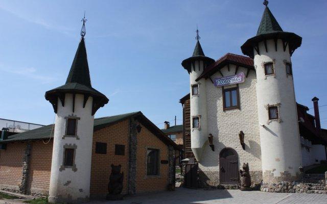 Отель -Пансионат Поместье Белокуриха вид на фасад