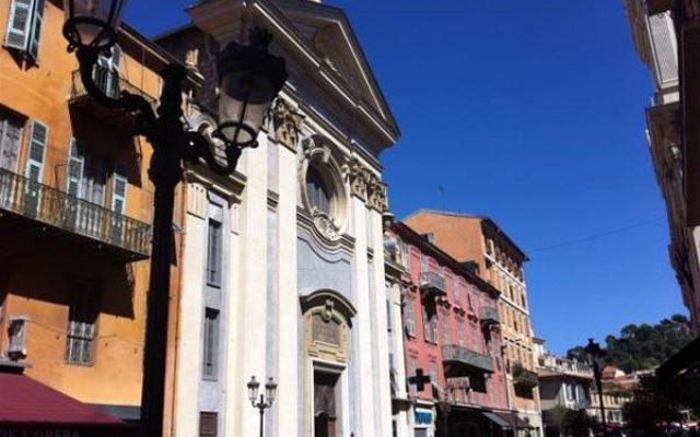 Отель Cresp Франция, Ницца - отзывы, цены и фото номеров - забронировать отель Cresp онлайн вид на фасад