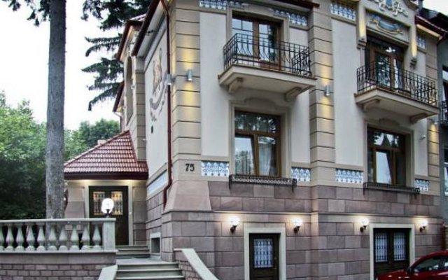 Villa Stanislavskyi Hotel Львов вид на фасад