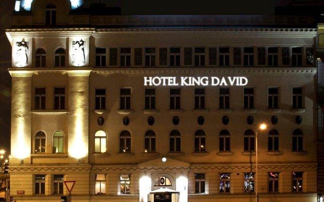 Отель KING DAVID Prague Чехия, Прага - 8 отзывов об отеле, цены и фото номеров - забронировать отель KING DAVID Prague онлайн вид на фасад