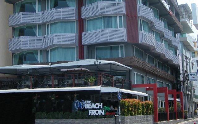 Отель The Beach Front Resort Pattaya вид на фасад