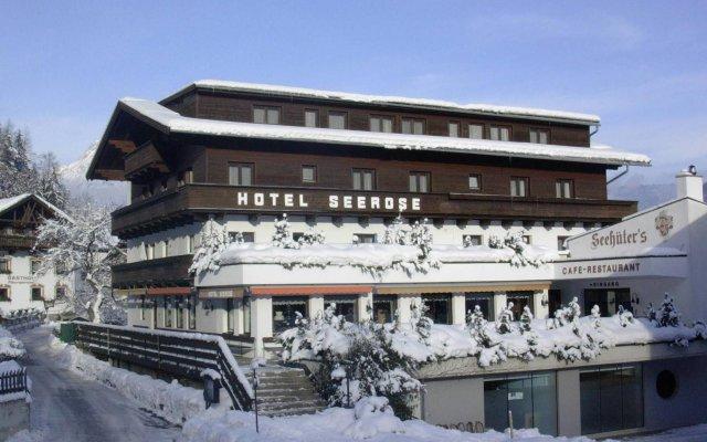 Seehüters Hotel Seerose вид на фасад