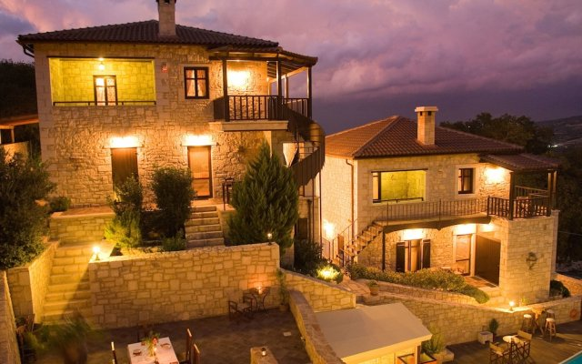 Отель Asion Lithos вид на фасад