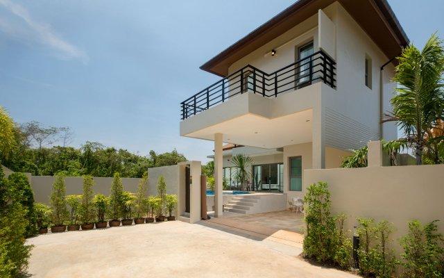Отель Villa Maluku Пхукет вид на фасад