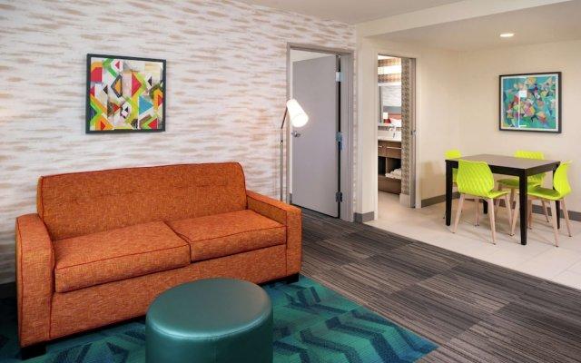 Отель Home2 Suites by Hilton Columbus/West, OH США, Колумбус - отзывы, цены и фото номеров - забронировать отель Home2 Suites by Hilton Columbus/West, OH онлайн комната для гостей