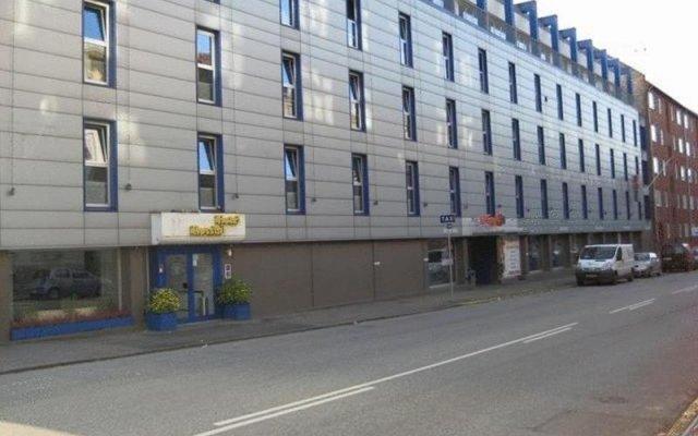 Отель Rossini вид на фасад