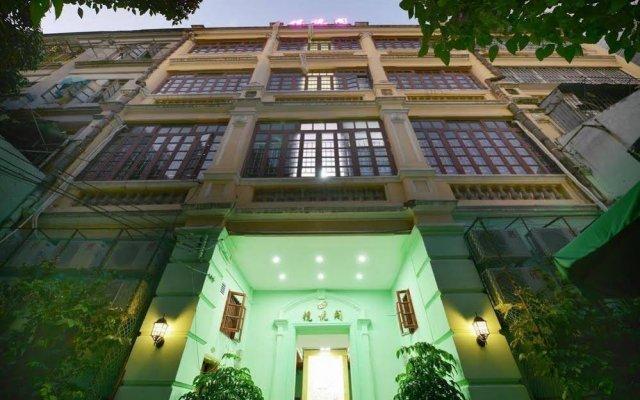 Апартаменты Guangzhou LanYueGe Apartment Beijing Road вид на фасад