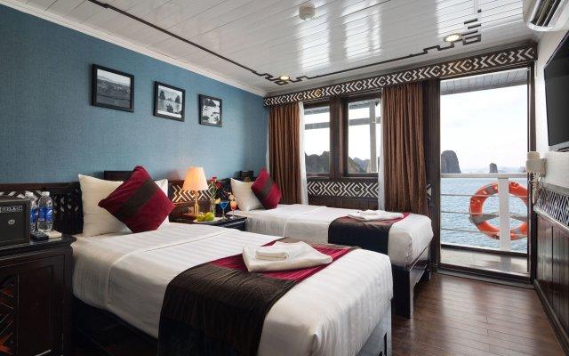 Отель Halong Carina Cruise Вьетнам, Халонг - отзывы, цены и фото номеров - забронировать отель Halong Carina Cruise онлайн комната для гостей